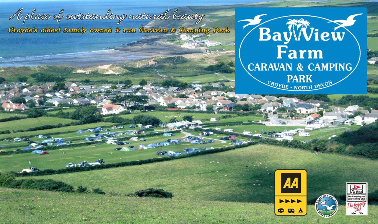 Croyde Bay Camping and Caravan Park Accomodation North Devon