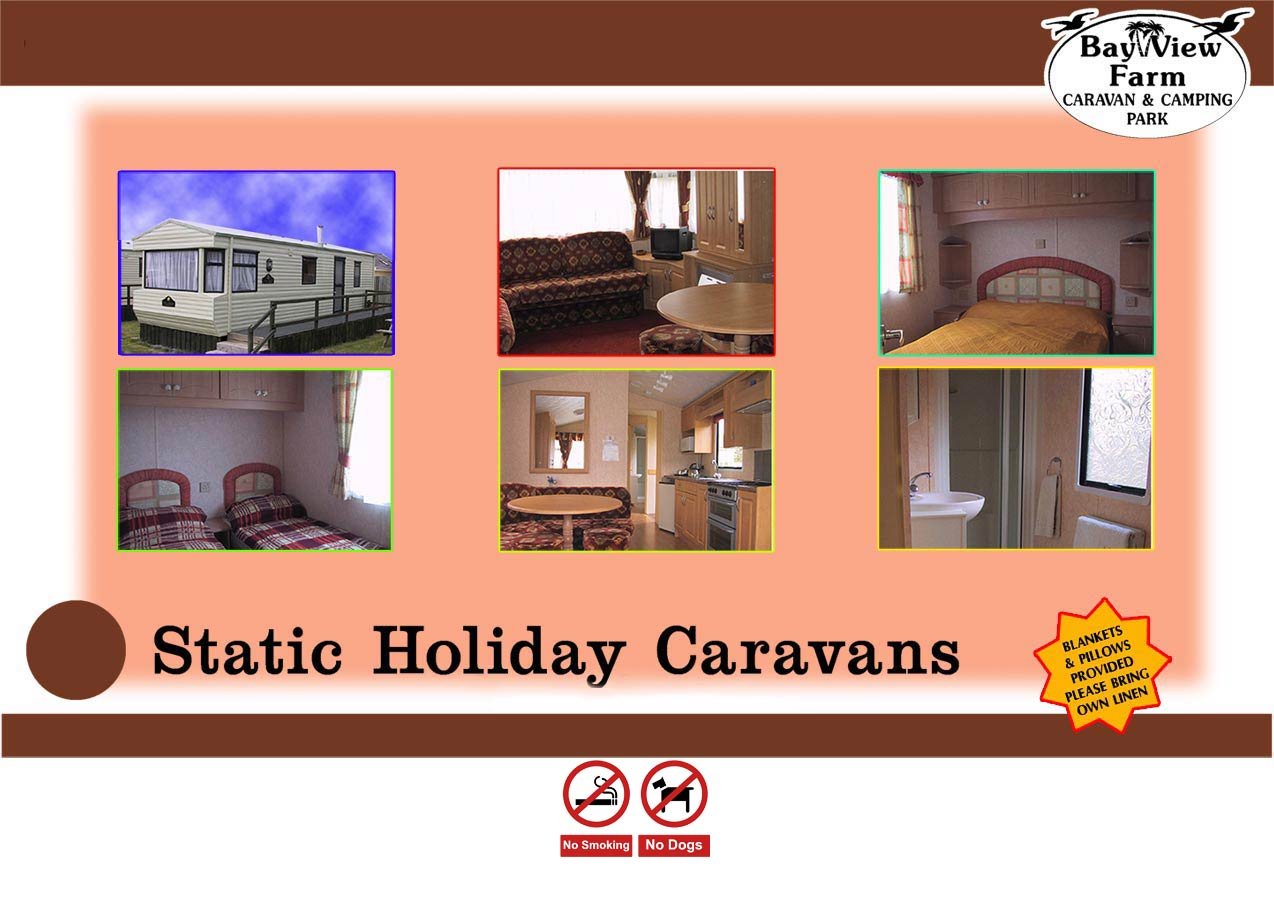 static holiday caravans